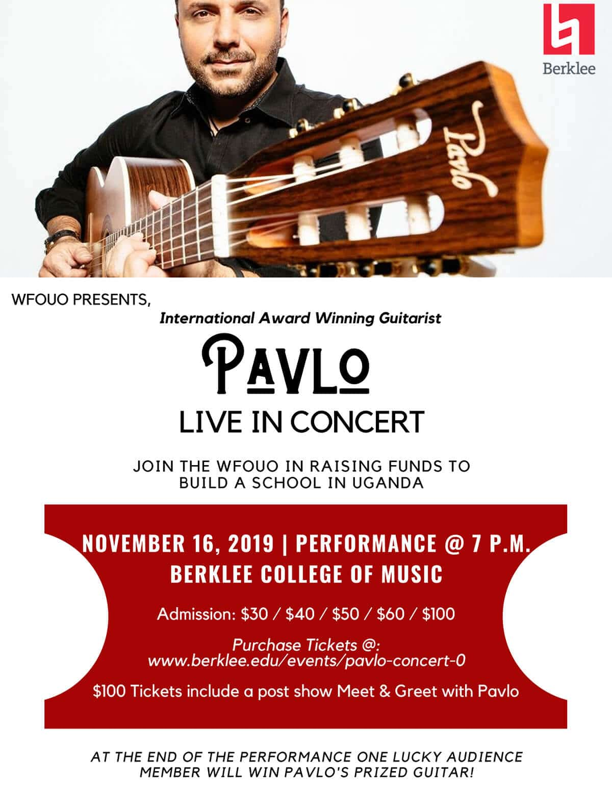 , Pavlo Live in Concert